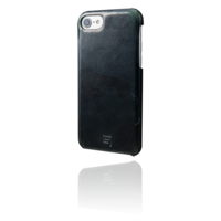 GRAMAS Pull Up Leather Case Dark Green Camo GLC866LDGCA for iPhone 7